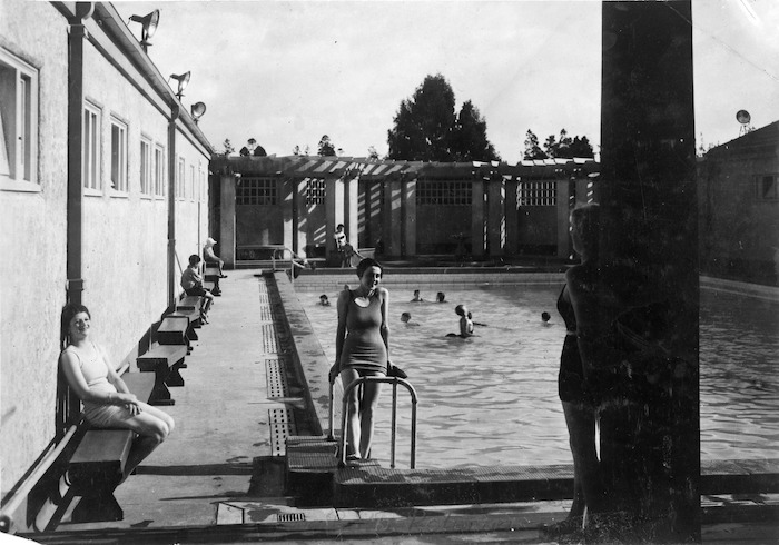 Blue Baths at Rotorua