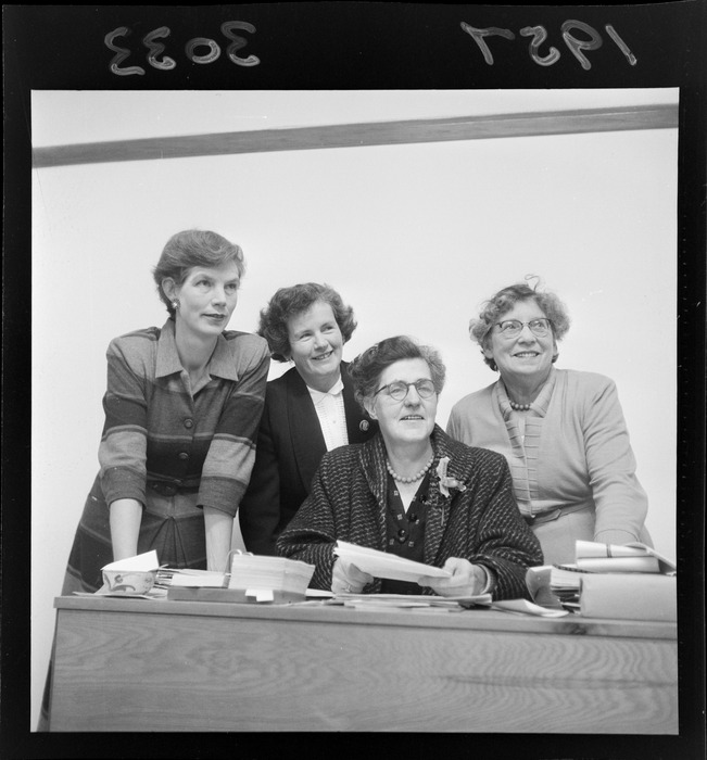 Members of the New Zealand Women Writers' Society