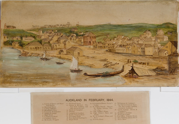 Auckland in February 1844.