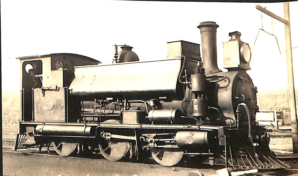 New Zealand Railways locomotive, F 0-6-0 ST class; number 245; 'Lord of the Isles'