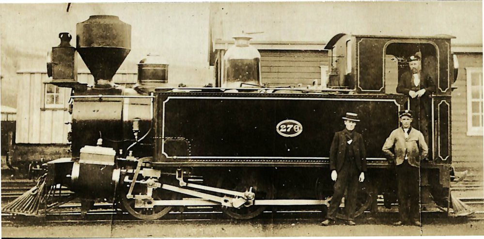 New Zealand Railways locomotive, Fa 0-6-2 class; number 276