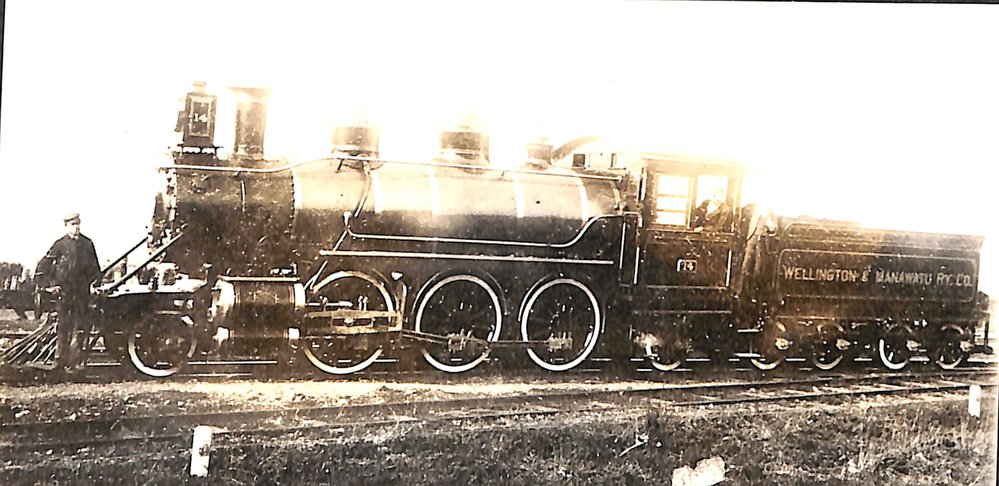 New Zealand Railways locomotive, Na 2-6-2 class; number 459 (Manawatu No 14)