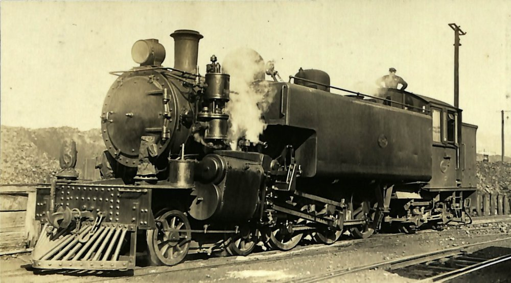 New Zealand railways locomotive, Ws 4-6-4 T class; number illegible