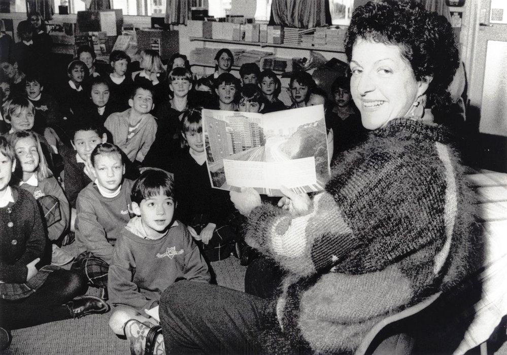 Writer Pat Quinn at St Brendan's School