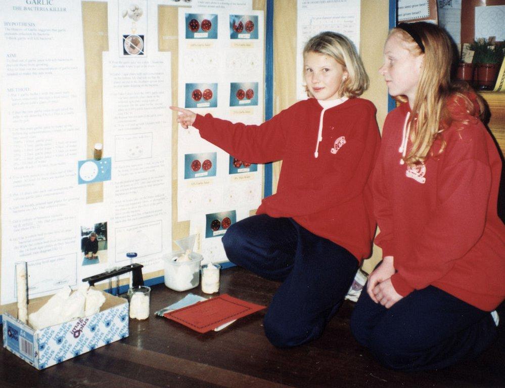 Fergusson Intermediate science fair winners