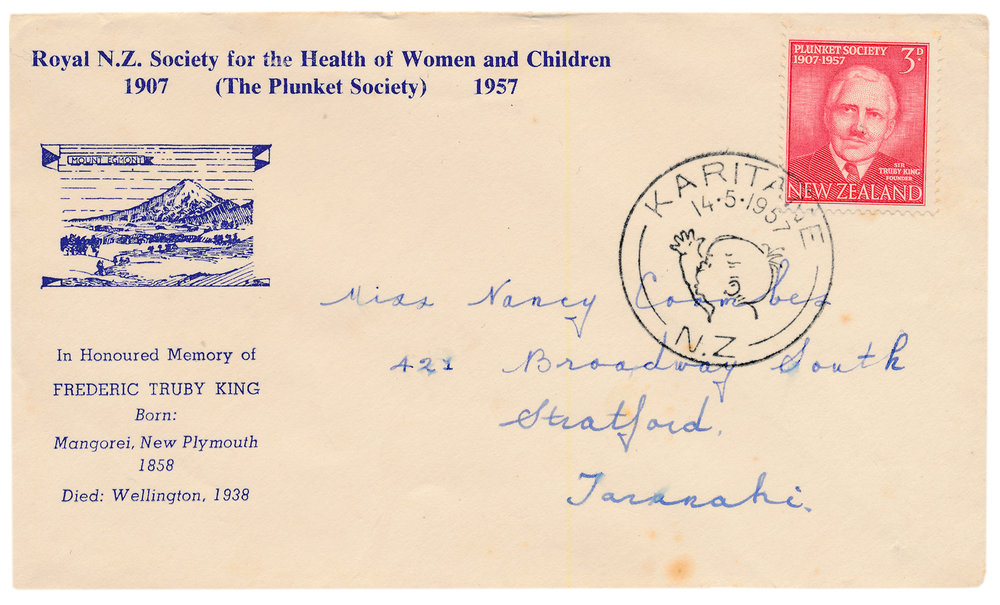 Plunket 50th Jubilee, First Day Cover