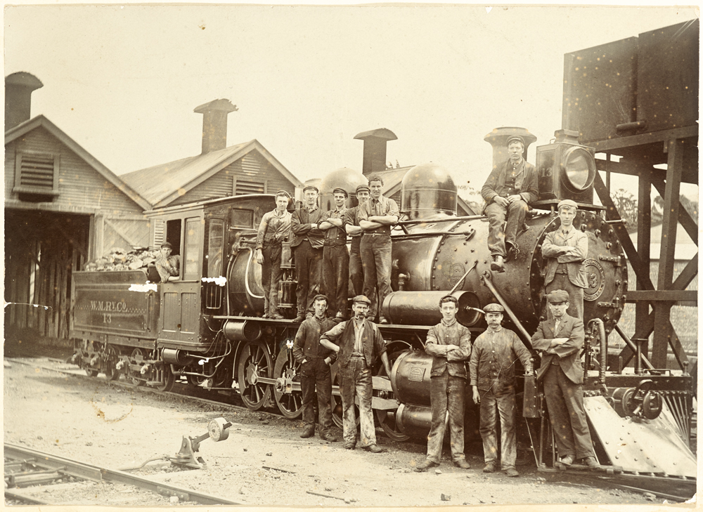 Wellington and Manawatu Railway Company railway locomotive 13 'The Lady'