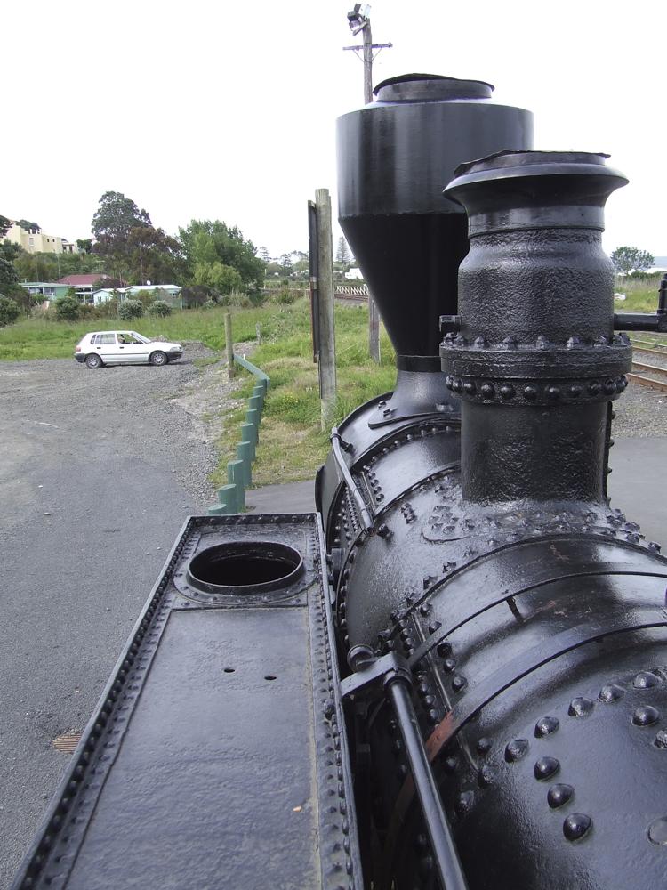 Steam locomotive, Helensville