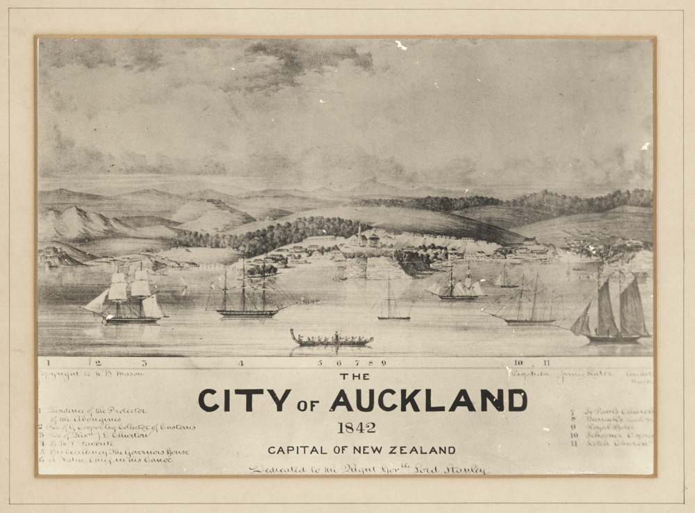The City of Auckland 1842