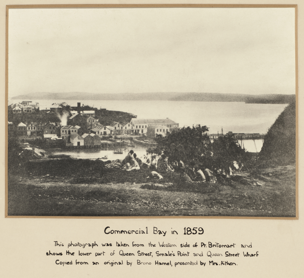 Commercial Bay in 1859