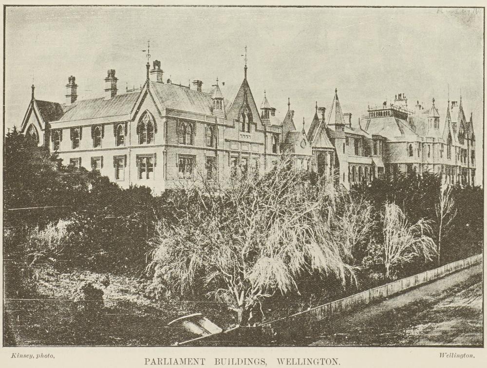 Parliament Bujldings, Wellington,