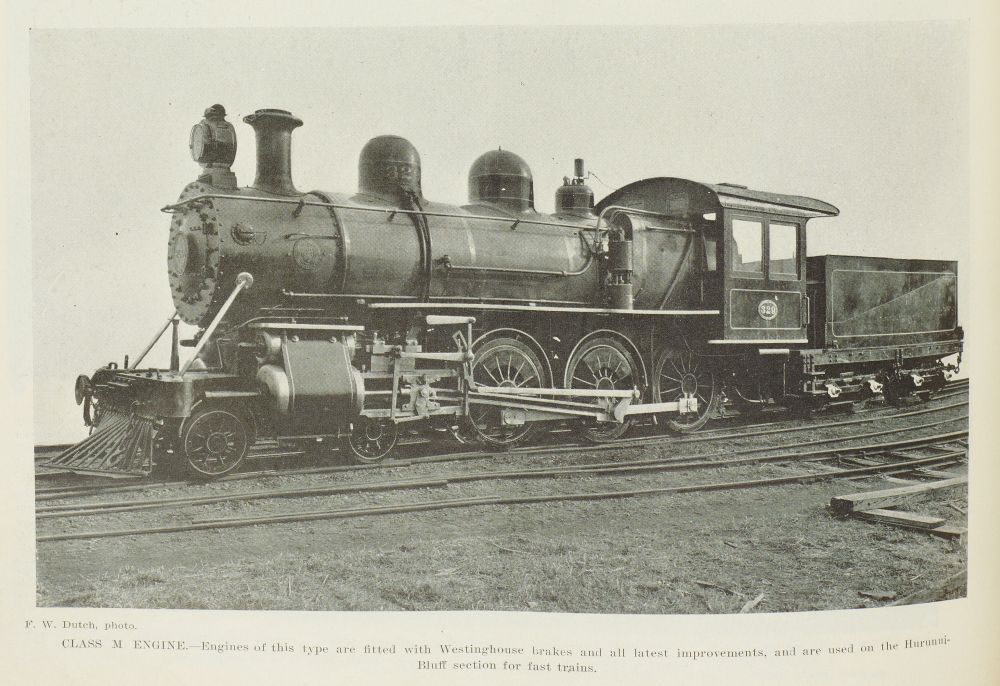 The new American Engines for the railways.