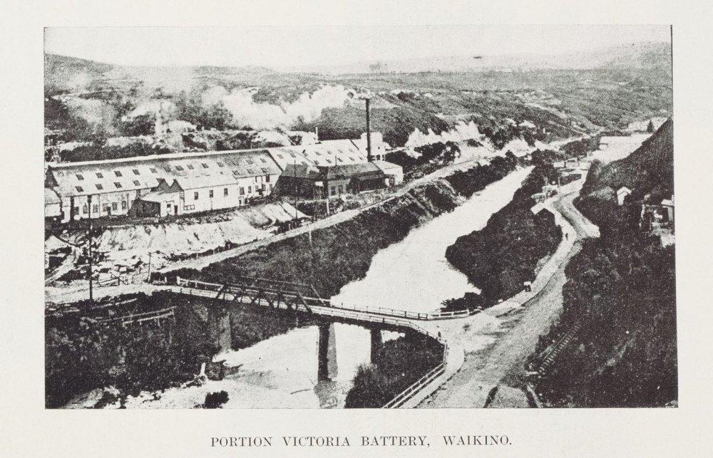 PORTION VICTORIA BATTERY, WAIKINO.