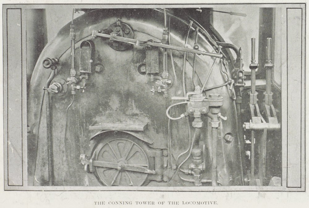 The conning tower of the locomotive.