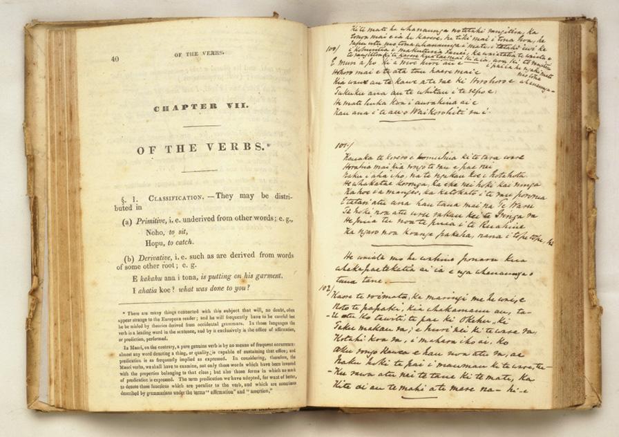 A Grammar of the New Zealand Language