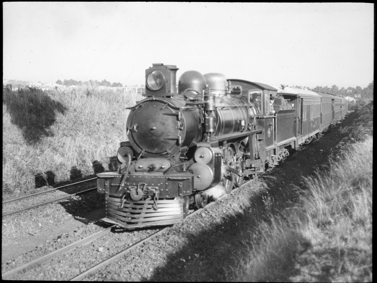 Unidentified steam locomotive