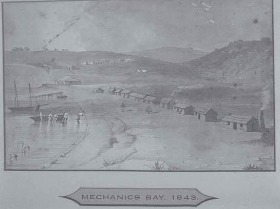 Mechanics Bay, 1843