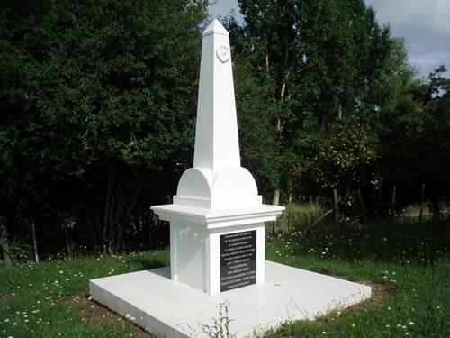 Waikato Regiment NZ Wars memorial, Drury