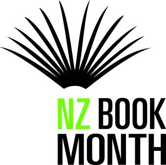 New Zealand Book Month logo