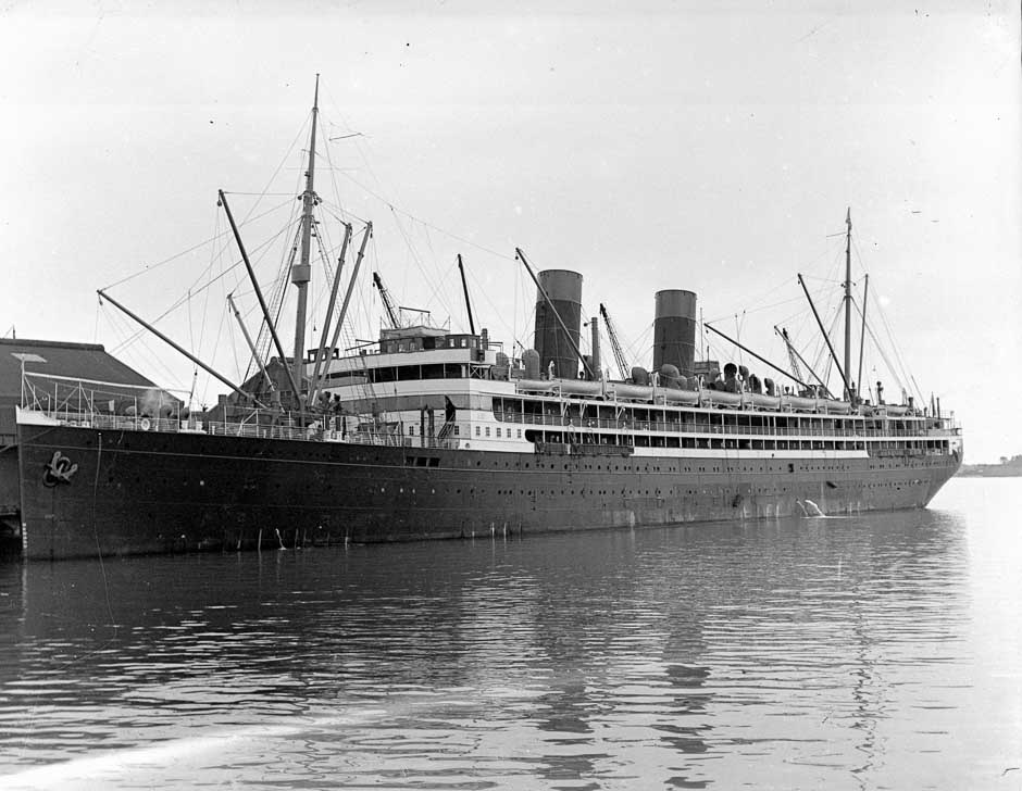 RMS Niagara - the 1918 influenza pandemic