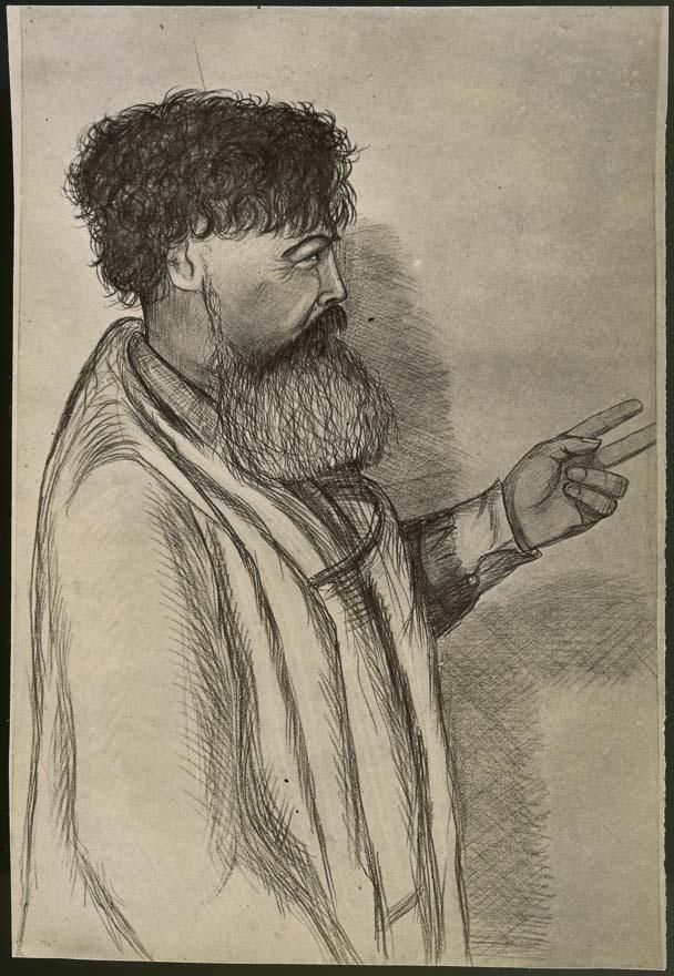 Sketch of Te Whiti-o-Rongomai