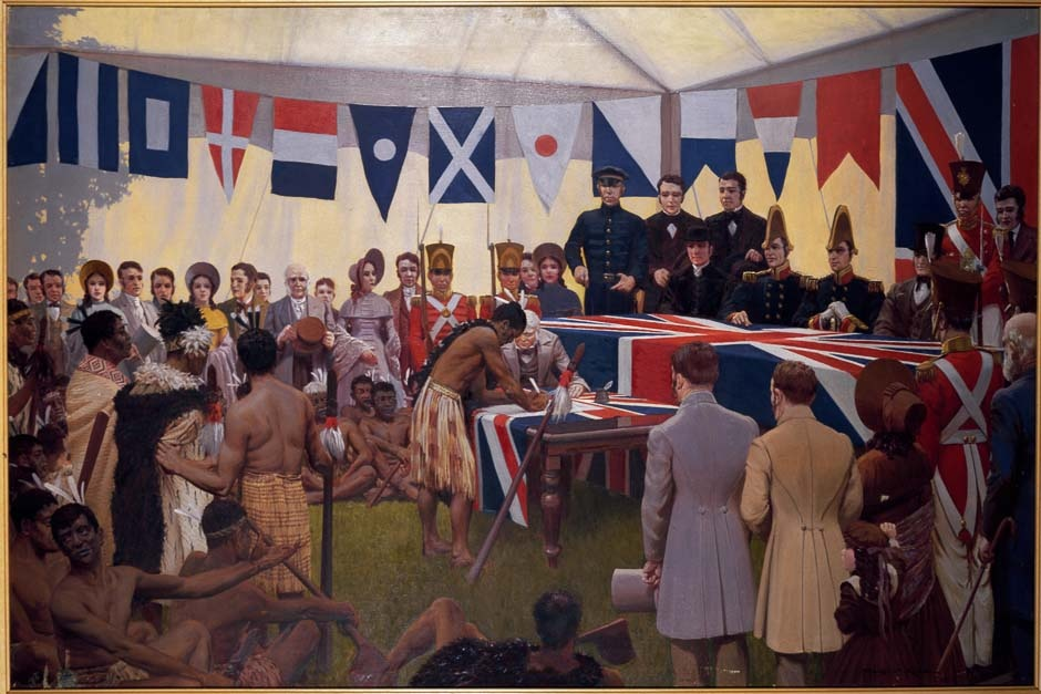 Signing of the Treaty of Waitangi