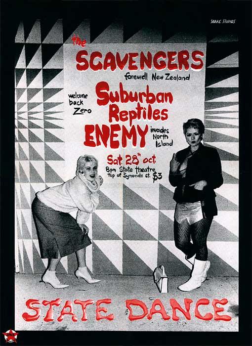 Punk rock poster, 1978