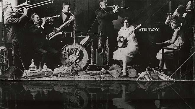 Walter Smith's Jazz Band, around 1927