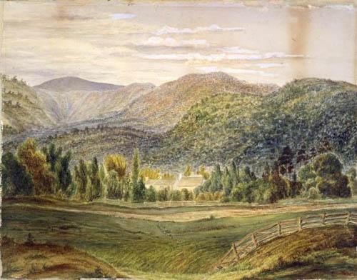 Thomas Mason's gardens at Taita, Hutt Valley, Wellington
