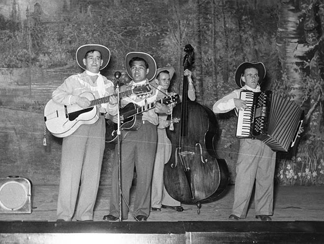 Johnny Cooper and the Range Riders, mid-1950s