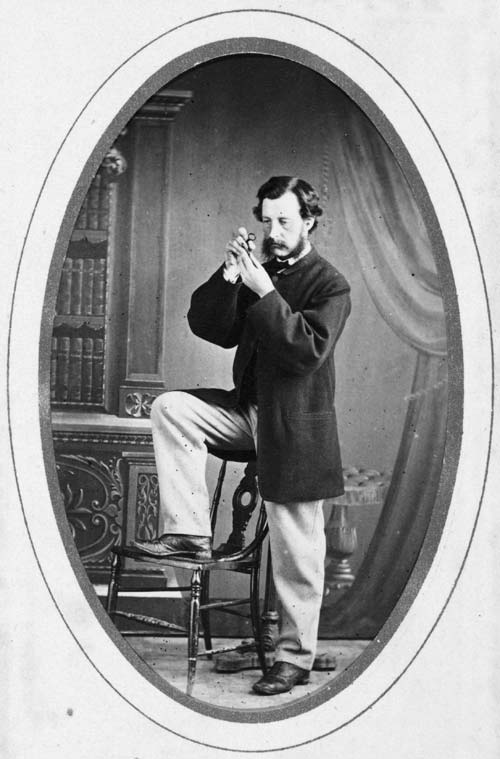 James Hector, about 1863