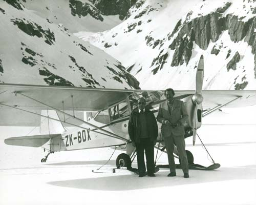 Ski plane - Ministry for Culture and Heritage - Te Ara - The Encyclopedia of New Zealand, Matapihi