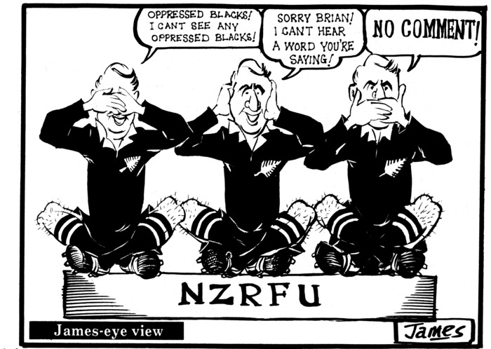 Lynch, James, 1947-: NZRFU. 18 August 1980