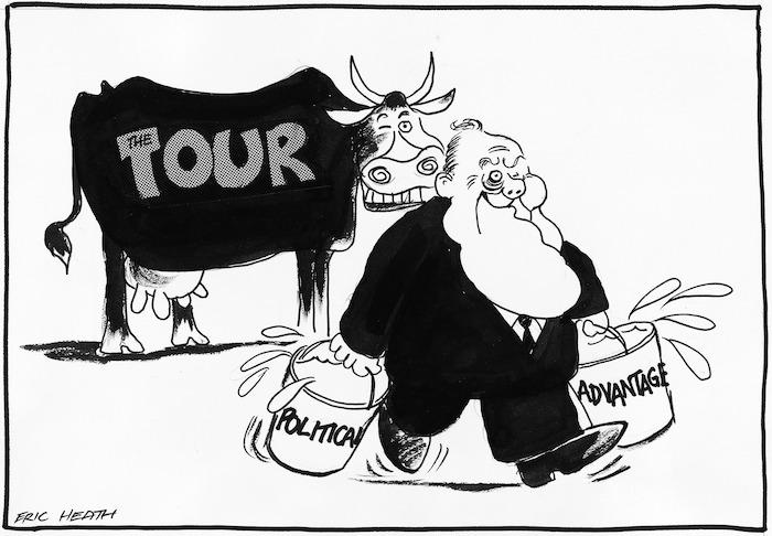 Heath, Eric, 1923- :The Tour. Political advantage. 3 August 1981.