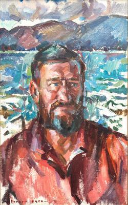 Portrait of Denis Glover