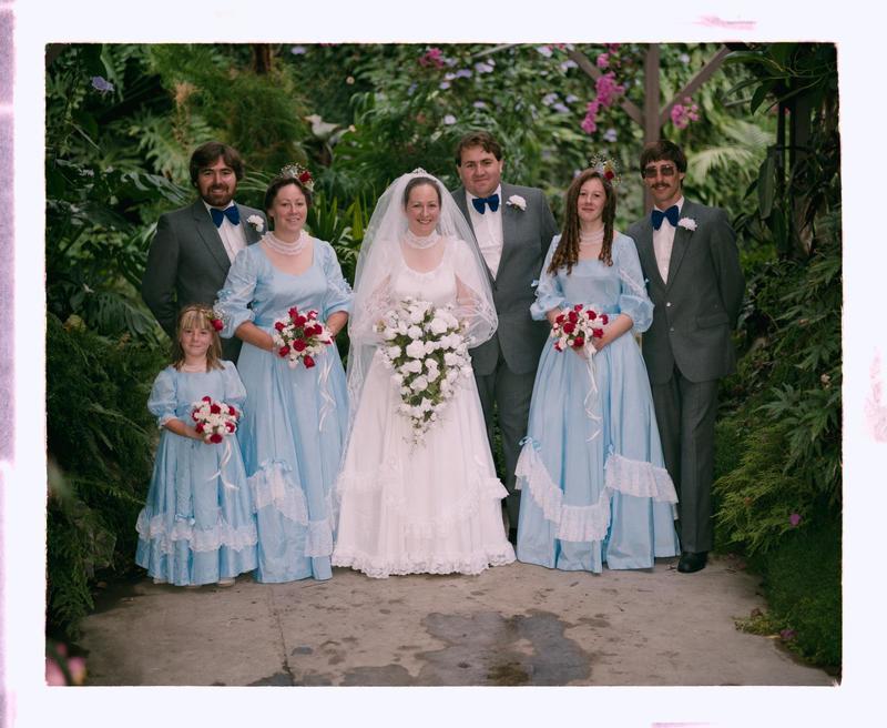 Negative: Brown-Freeman Wedding