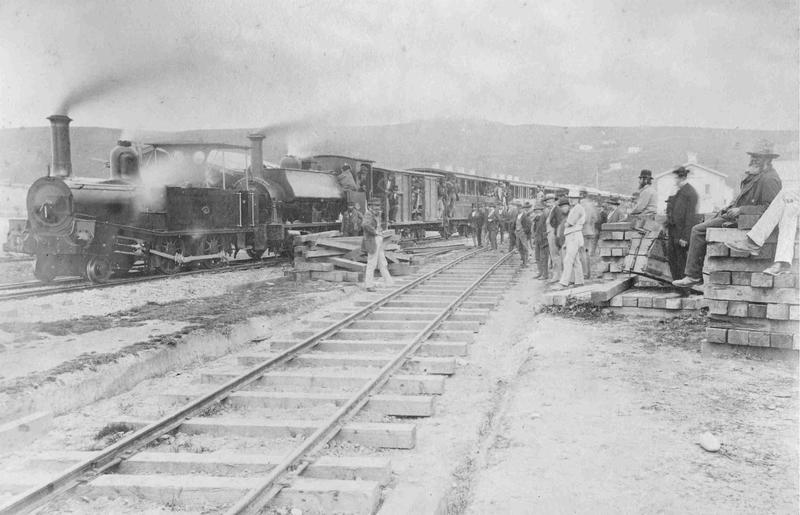 Opening of the Oamaru to Waitaki railway