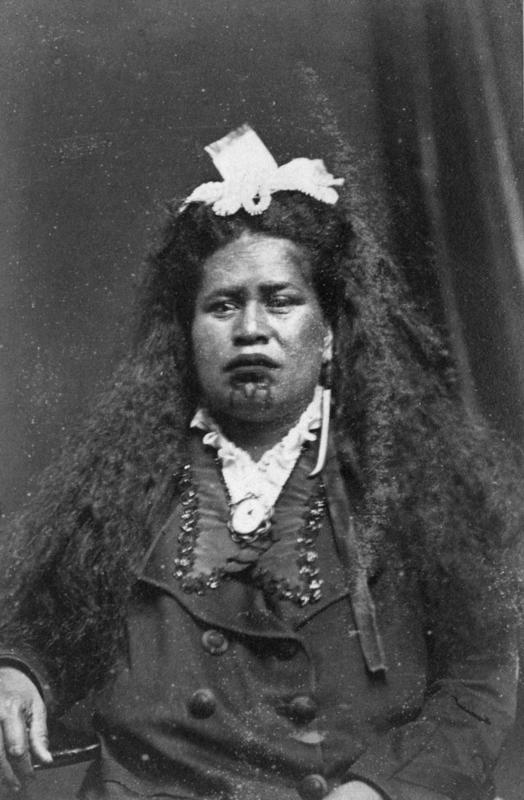 Portrait, Ākenehi Pātoka Rātima Rerepukapuka Tōmoana