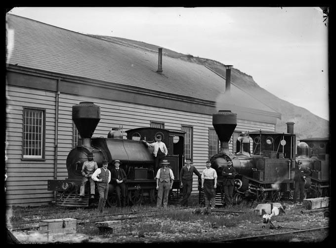 Railways, locomotives, St Vincent Street yard