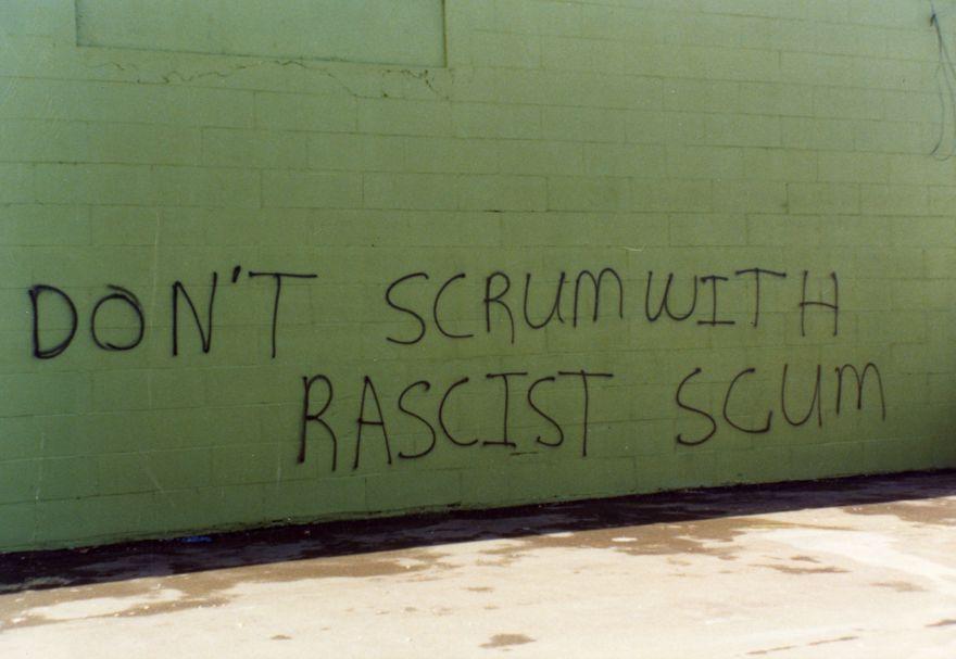 Springbok Tour - graffiti