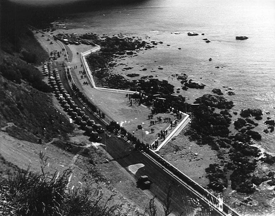 Coastal Highway & Sea-wall Dedication Ceremony, 1939