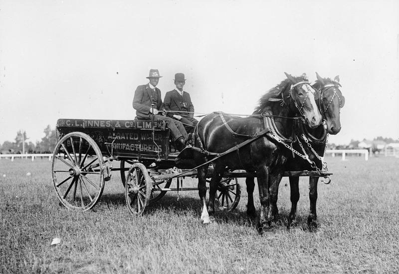 C. L. Innes & Co. Ltd. horse drawn cart