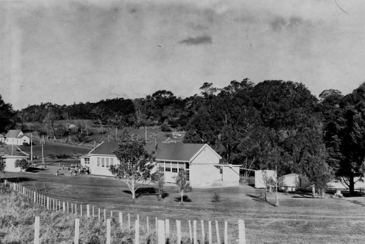 Albany School buildings.