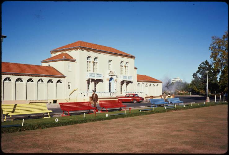 Blue Bath, Rotorua, 1975