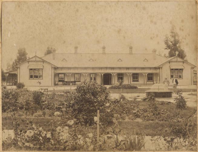 Blue Bath House, Rotorua