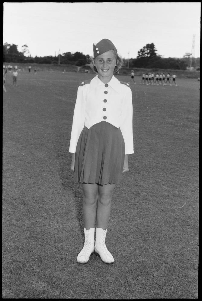 Marching girls competition, 1959