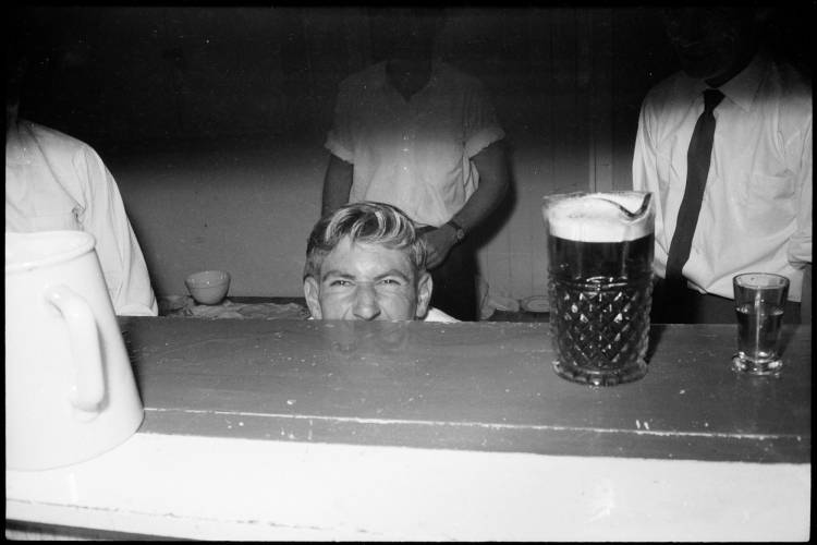 Claude Carter's 21st birthday party, 1961