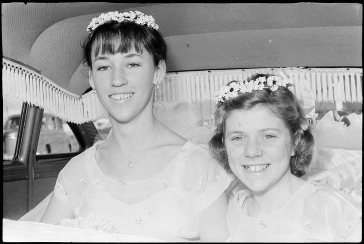 Wedding at the Point England Presbyterian Church, 1960