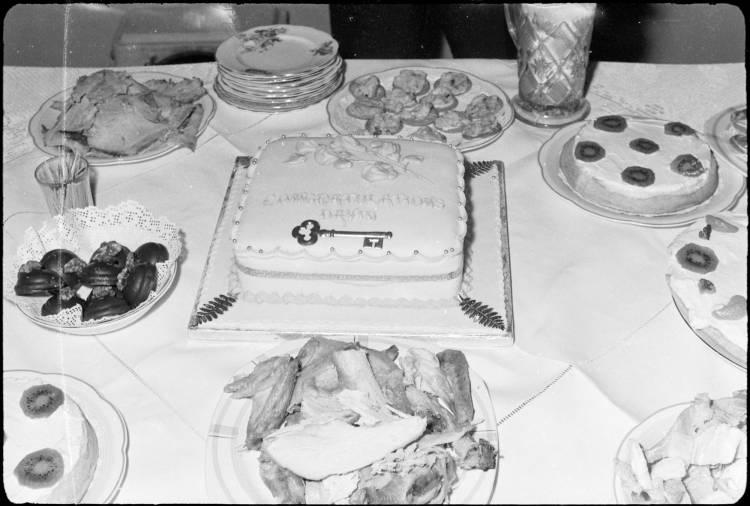 21st birthday party for David Glen, 1960