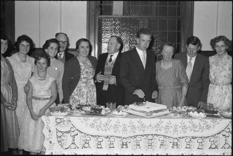 21st Birthday party, 1959